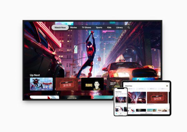Apple tv ipad pro iphone watch now screen 05132019 600x426 - Apka Apple TV je s novým iOS a tvOS dostupná aj u nás, spolu s AirPlay 2 prichádza aj na vybrané Smart TV