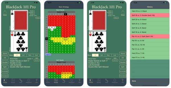 Blackjack 101 Pro 600x308 - Zlacnené aplikácie pre iPhone/iPad a Mac #21 týždeň