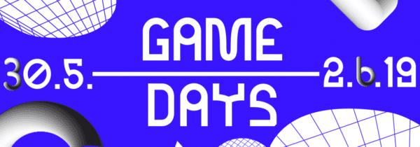Game Days 2019 600x210 - Viete, čo majú spoločné samizdat, Witcher 3 aXbox? Všetko nájdete na festivale Game Days Trnava