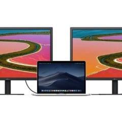 """LG UltraFine 4K Display 237 mac daisy chaining 240x240 - Nového monitoru od Applu se nedočkáme, místo toho se v nabídce objevil nový 23,7"""" displej od LG"""