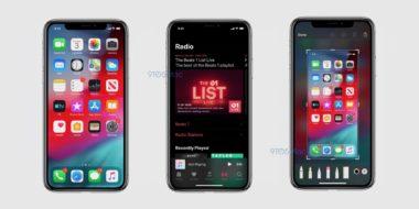 ios 13 screenshot dark mode 380x190 - Objevily se oficiální screenshoty iOS 13, které přinese Dark Mode, předělané připomínky a další novinky