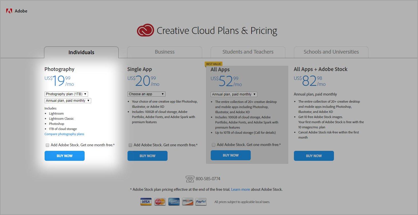 photoplannew - Adobe plánuje zdvojnásobiť predplatné pre Lightroom a Photoshop