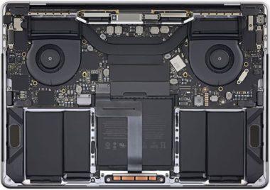 """MacBook Pro Guts 380x268 - Podívejte se, co nový 13"""" MacBook Pro skrývá pod svou """"kapotou"""""""
