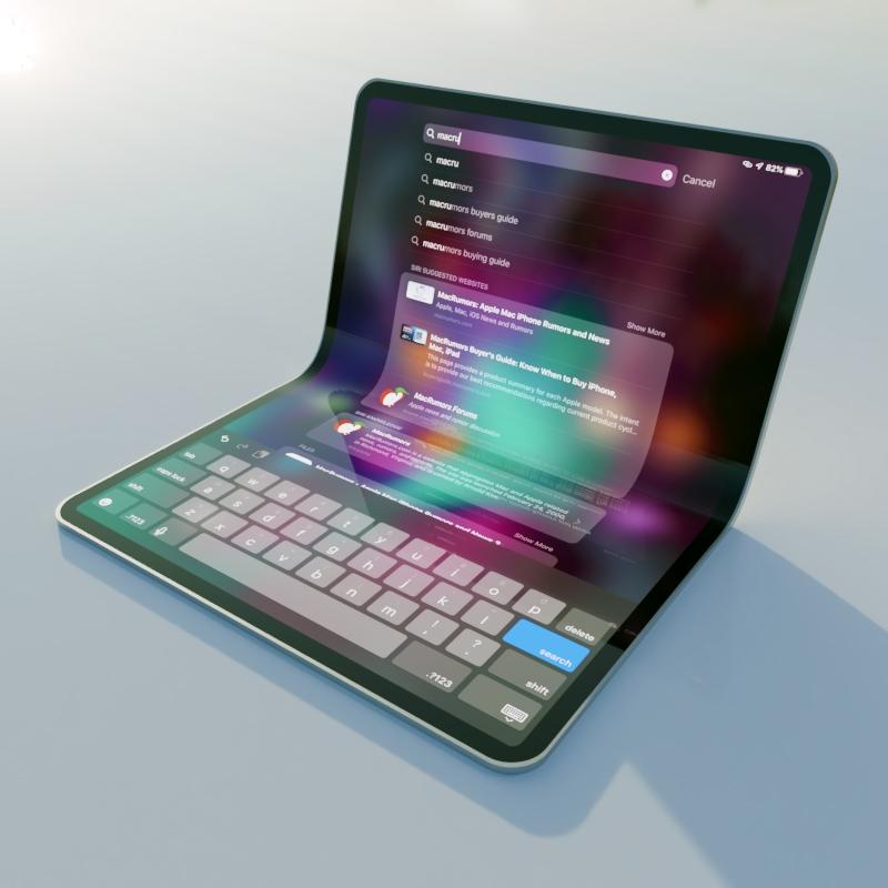foldpad filmic - Apple môže pracovať na ohybných iPadoch