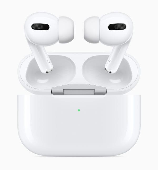 Apple AirPods Pro New Design case and airpods pro 102819 600x647 - Apple predstavil AirPods Pro s potláčaním hluku a novou cenovkou
