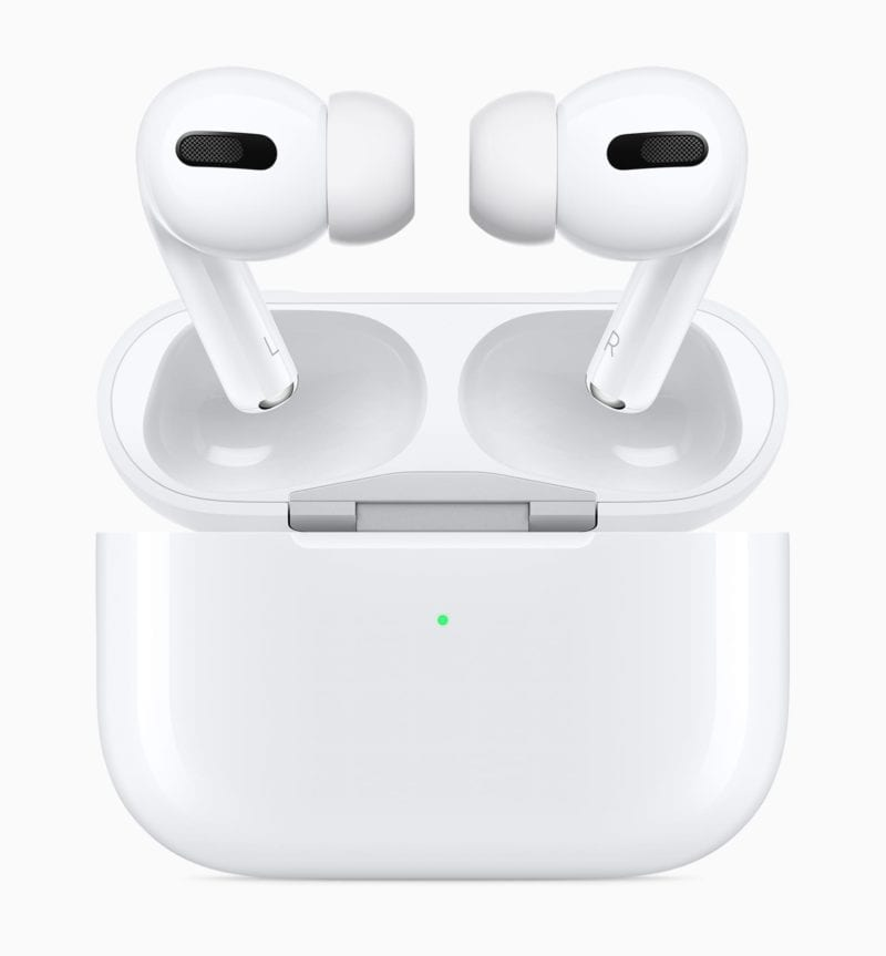"Apple AirPods Pro New Design case and airpods pro 102819 800x863 - Apple by mal pracovať na ""AirPod Pro Lite"""