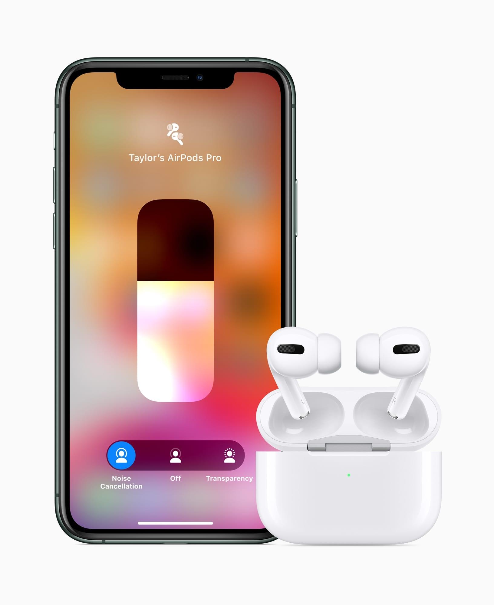 Apple AirPods Pro iPhone11 Pro 102819 - Apple predstavil AirPods Pro s potláčaním hluku a novou cenovkou
