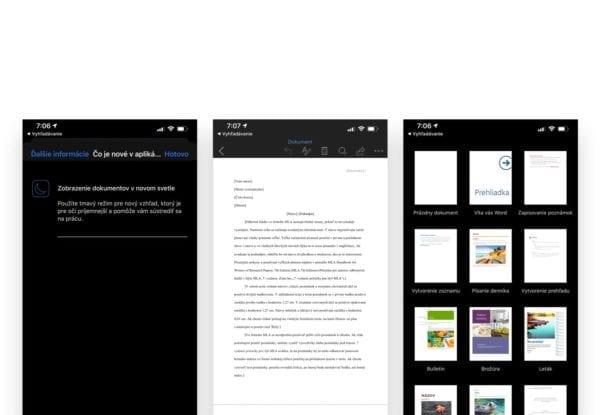 office dark mode 600x415 - Používate Microsoft Office? Zapnite si Dark Mode
