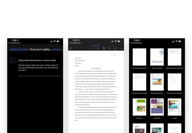 office dark mode 800x553 - Používate Microsoft Office? Zapnite si Dark Mode