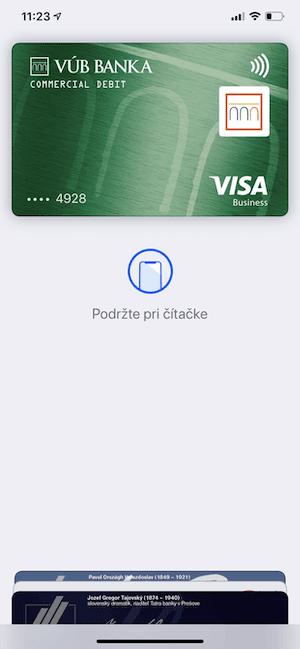 IMG 0147 zmensene - Konečne. Apple Pay už aj pre klientov VÚB