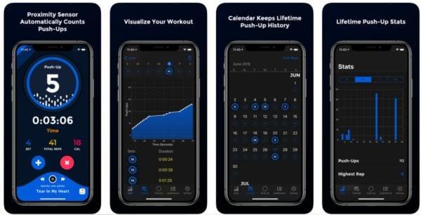 PushFit Pro 600x306 - Zlacnené aplikácie pre iPhone/iPad a Mac #49 týždeň