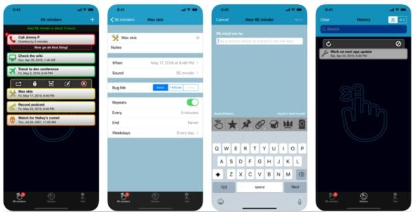 RE.minder PRO 600x309 - Zlacnené aplikácie pre iPhone/iPad a Mac #51 týždeň