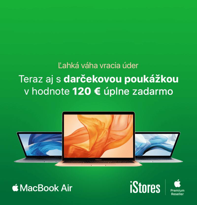 SK MBA 120eur 1200x960 2 800x836 - Nový MacBook Air teraz získaš v iStores s bonusom 120 €