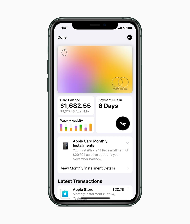 card - Apple chce priniesť novú éru svojich služieb