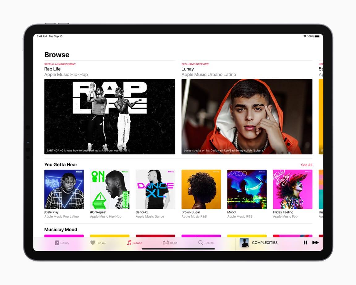 music - Apple chce priniesť novú éru svojich služieb