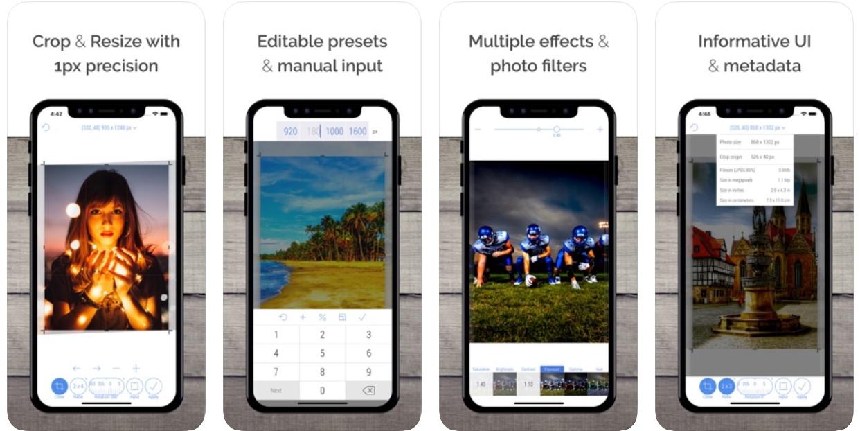 CropSize Photo Resizer Editor - Zlacnené aplikácie pre iPhone/iPad a Mac #11 týždeň