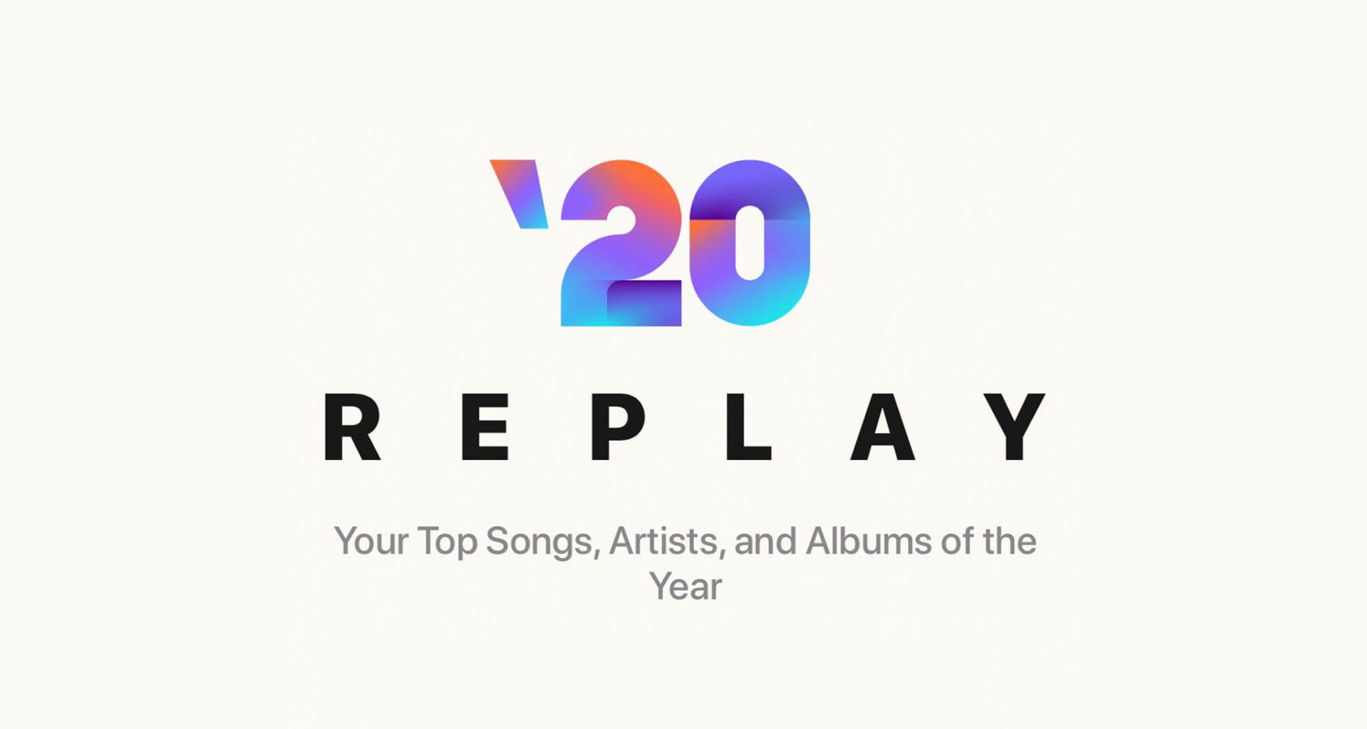 cover 1920x1024 - Replay 2020 – vaše najhranejšie skladby z Apple Music
