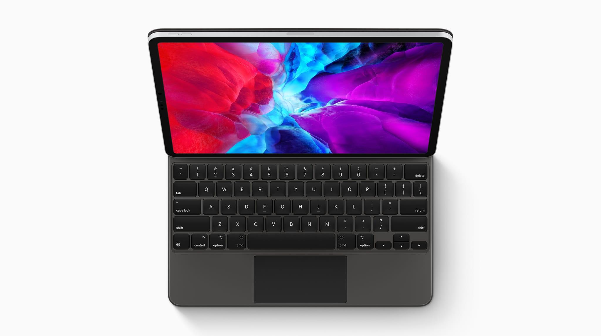 iPad Pro Magic Keyboard 2020 - Apple predstavil nový iPad Pro a Magic Keyboard s LED podsvietením - aktualizácia