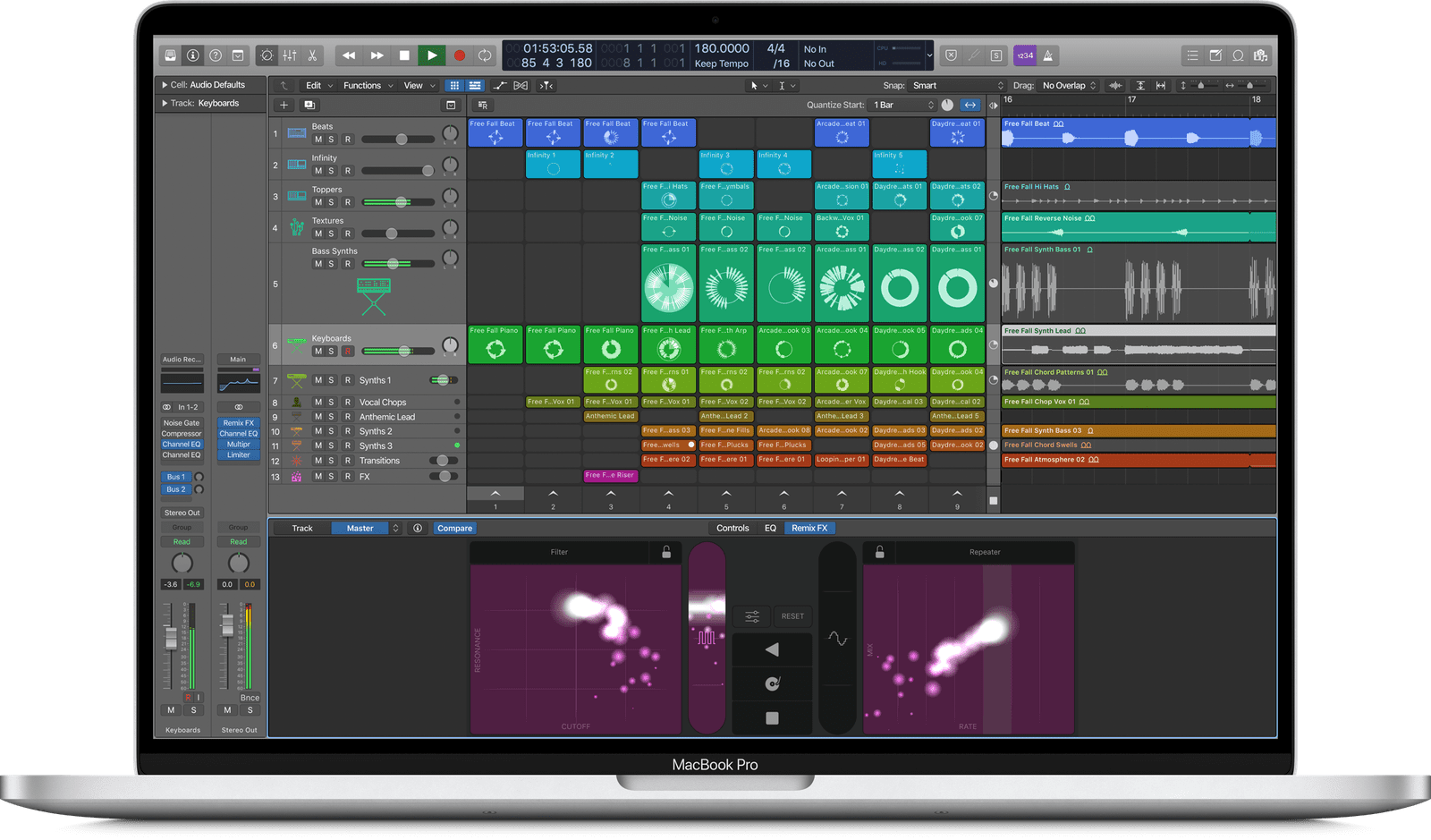 Logic Pro X Live Loops Feature Leak