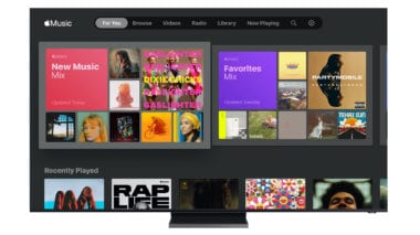 Samsung Smart TV Apple Music