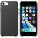 iPhone SE Leather Case Black