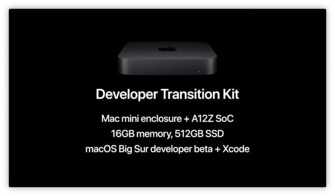 Mac Developer Transition Kit