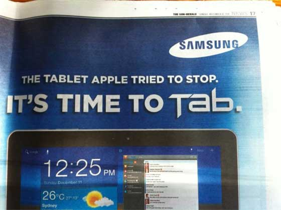 galaxy-tab-ad-newspaper