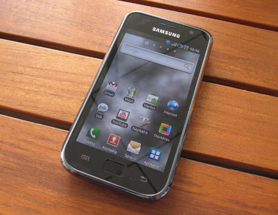 galaxysrec phone1 - Recenzia  Telefón Samsung Galaxy S - aký je Android z  pohľadu Apple aece3c60509