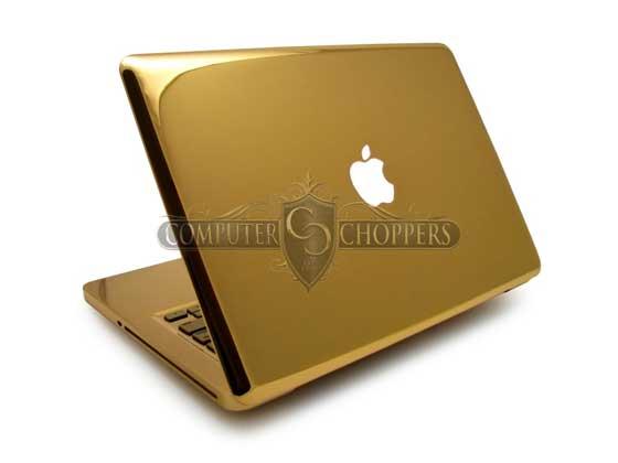 Neviete čo s peniazmi  Kúpte si Unibody MacBook Pro z 24 karátového ... d650282d10f