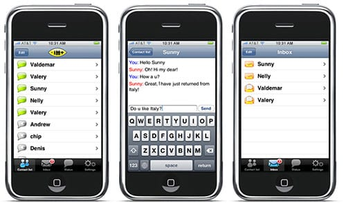 im for iphone shapeservices app shots - Apple musel klamať, aby bola prezentácia iPhone dokonalá