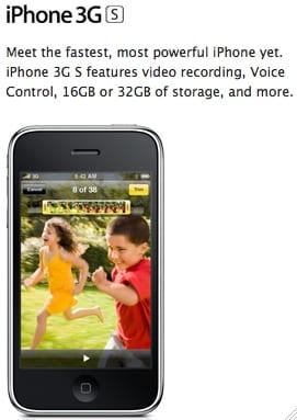 iphone3gs - WWDC 2009 report #2 - nový iPhone 3GS už od 19. júna, v SR a ČR neskôr (pravdepodobne júl)