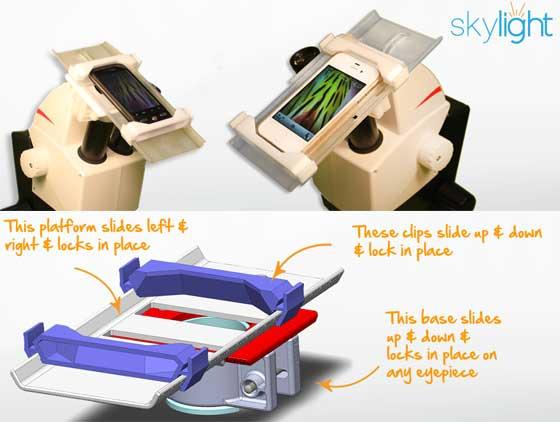 skylight hero - So špeciálnym príslušenstvom môžete premeniť váš iPhone na digitálny mikroskop