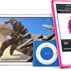 iPods 2015 240x240 - Apple predstavil nové iPody