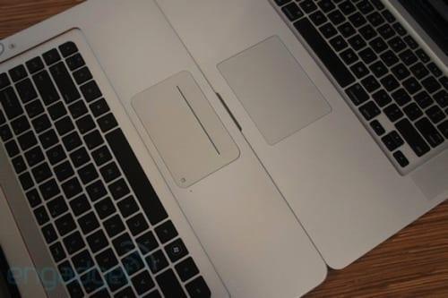 HP vs Apple notebook