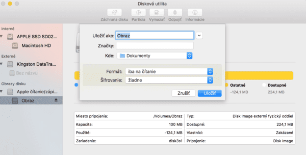 disk utility obraz