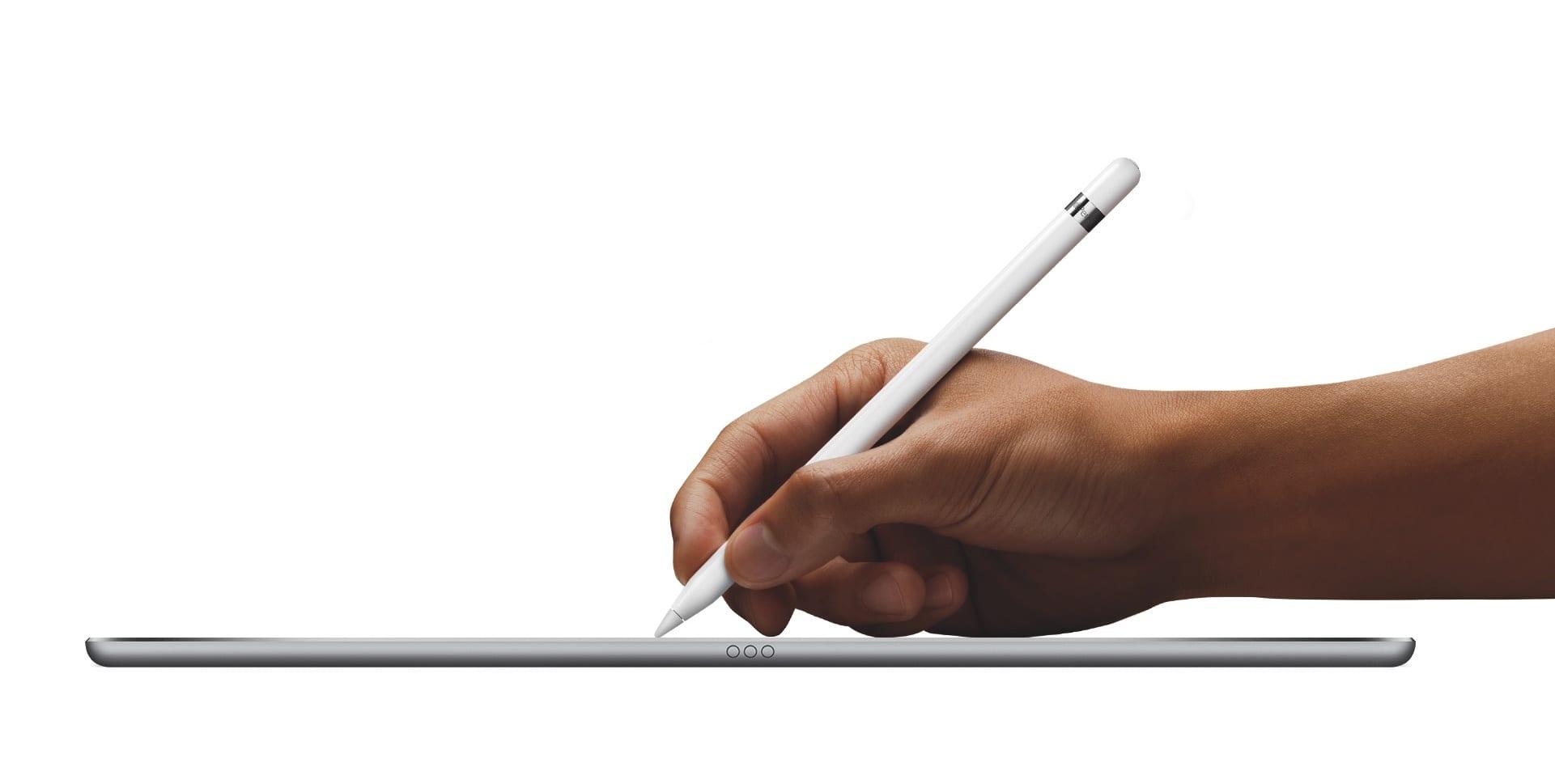 iPadPro Pencil Hand PRINT - Októbrový event: nové iPady, Pencil, MacBook Air, Mac Mini a viac…