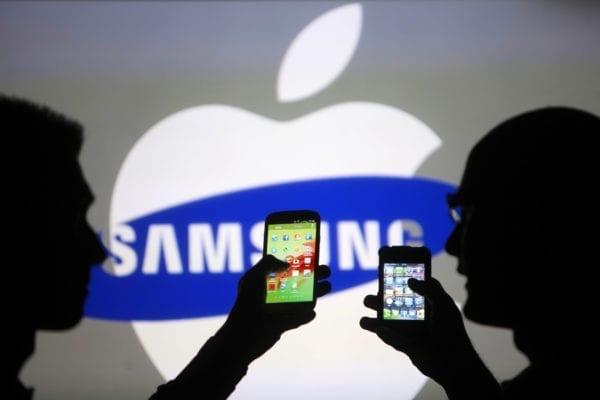 apple vs samsung 600x400 - Samsung môže v budúcnosti znovu vyrábať procesory pre iPhone