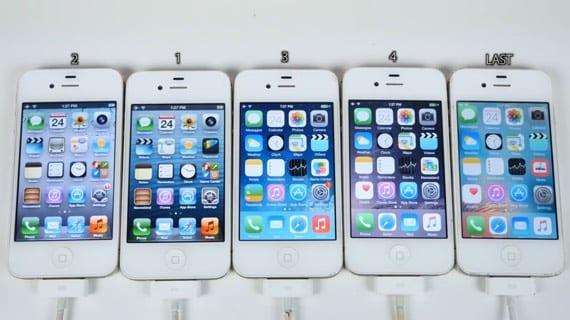 iPhone 4s- súboj generácii iOS