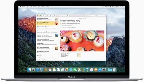 osx-el-capitan-notes-macbook
