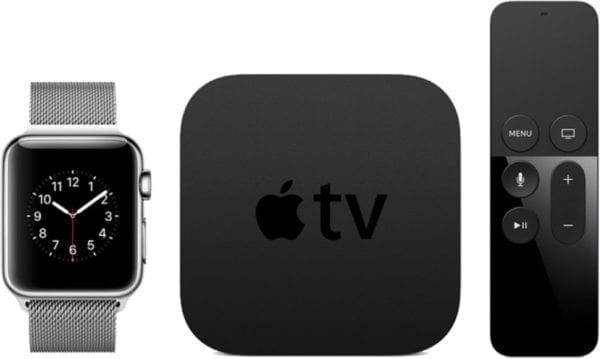 applewatch appletv devices 600x359 - Vyšli nové updaty pre Apple TV a Watch – tvOS 11.3, watchOS 4.3