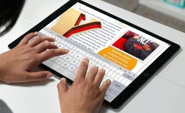 iPad Pro iwork 600x369 - Apple rozširuje funkcionalitu sady iWork pre iPad