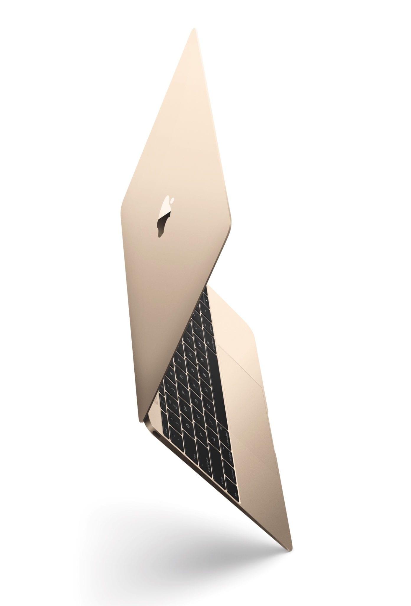 """MacBook OP90 Tilt Gld PRINT - 12"""" MacBook je minulosťou. Apple ukončil jeho predaj."""