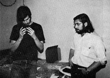 Steve Jobs a Steve Woznak (1976)
