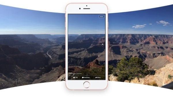 facebook 360 fotky