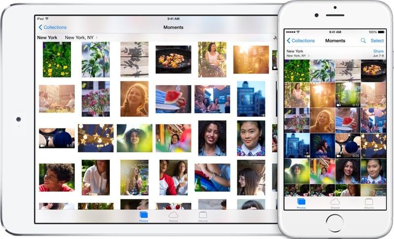 icloudphotolibrary devices ipad iphone - iPad nepodporuje zálohy z iOS 12.1.2