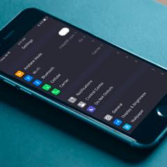 ios 10 concept 01 240x240 - Koncept: Ako by mohla vyzerať tmavá téma v iOS 10?