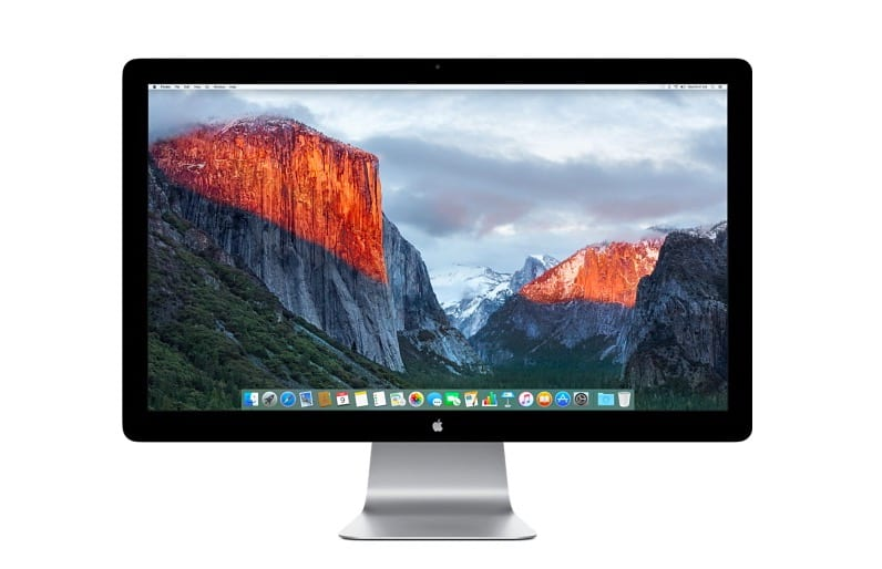 thunderbolt display el capitan - Ming-Chi Kuo: Apple pripravuje 31.6-palcový Retina 6K Display
