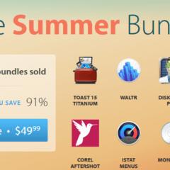 summer bundle 240x240 - Získajte 10 aplikácií so zľavou 91% – The Summer Bundle od MacUpdate