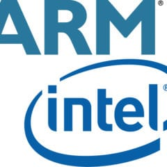 ARM vs. Intel 240x240 - Intel uzatvoril dohodu s ARM