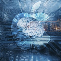 artificial intelligence apple logo 240x240 - Umelá Inteligencia je nekompatibilná s Apple, ktoré Tim Cook vybudoval